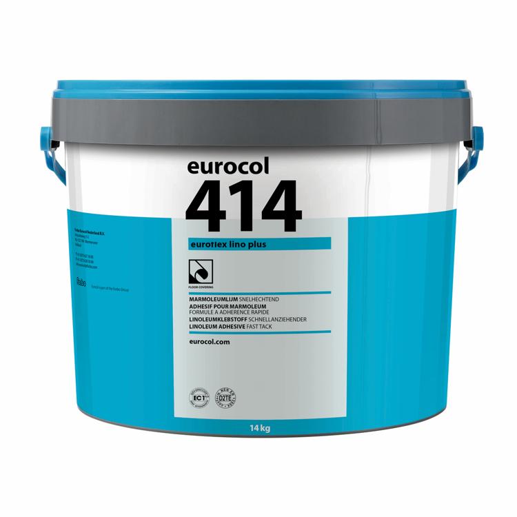 Pilt Eurocol 414 liim linoleumile / rullvaibale, 14 kg