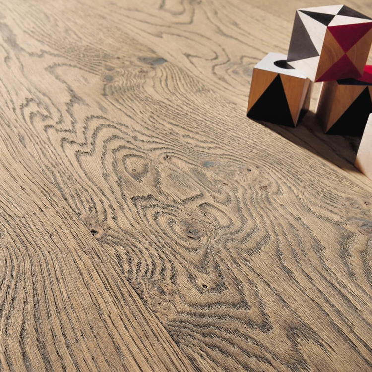 Pilt HARO 4000 Plank TAMM tobacco grey Sauvage retro brushed 4V naturaLin+