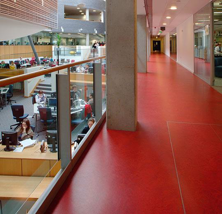 Pilt Marmoleum Fresco 2.5 scarlet 3131