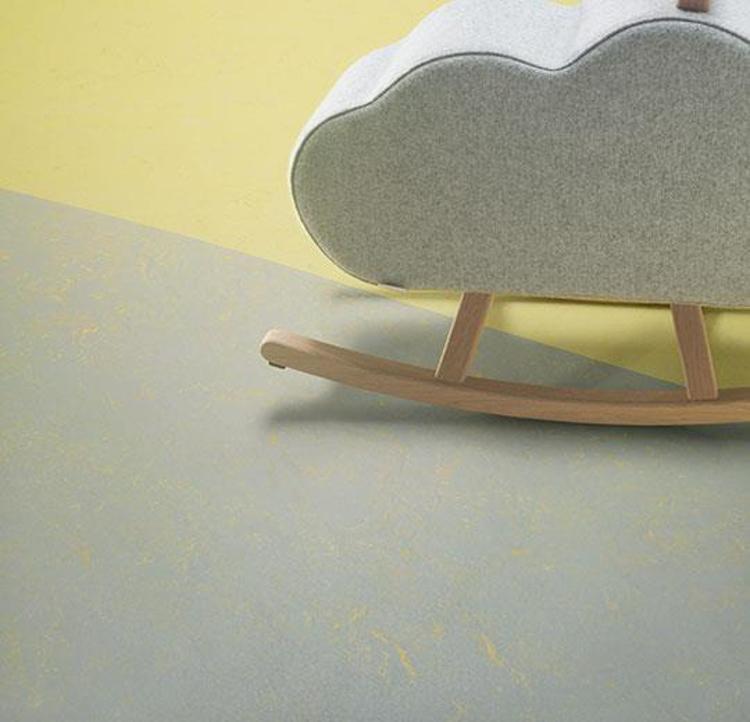 Pilt Marmoleum Concrete 2.5  yellow shimmer 3733
