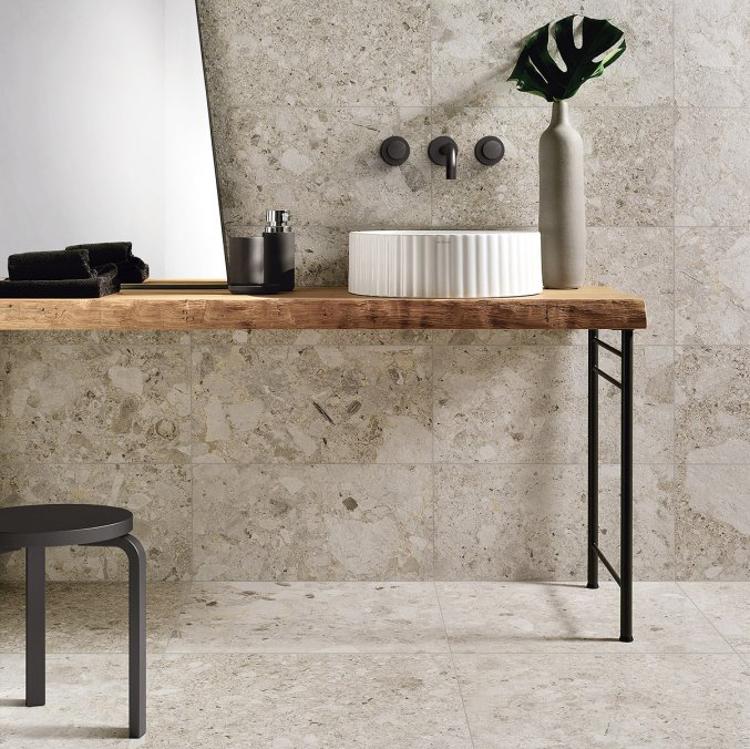 Pilt Põranda- ja seinaplaat Frammenta bianco 30x60R