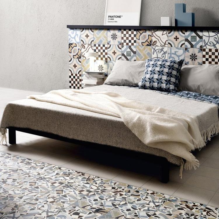 Pilt Põranda- ja seinaplaat Cementine Cocci colors 20x20R