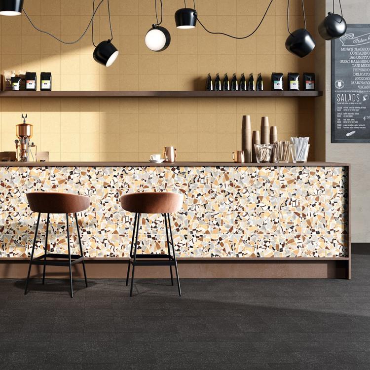 Pilt Põranda- ja seinaplaat Cementine Cocci ocra 20x20R