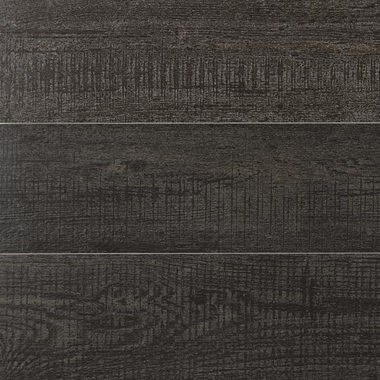 Pilt Põranda- ja seinaplaat Dekap solid black 20x120R
