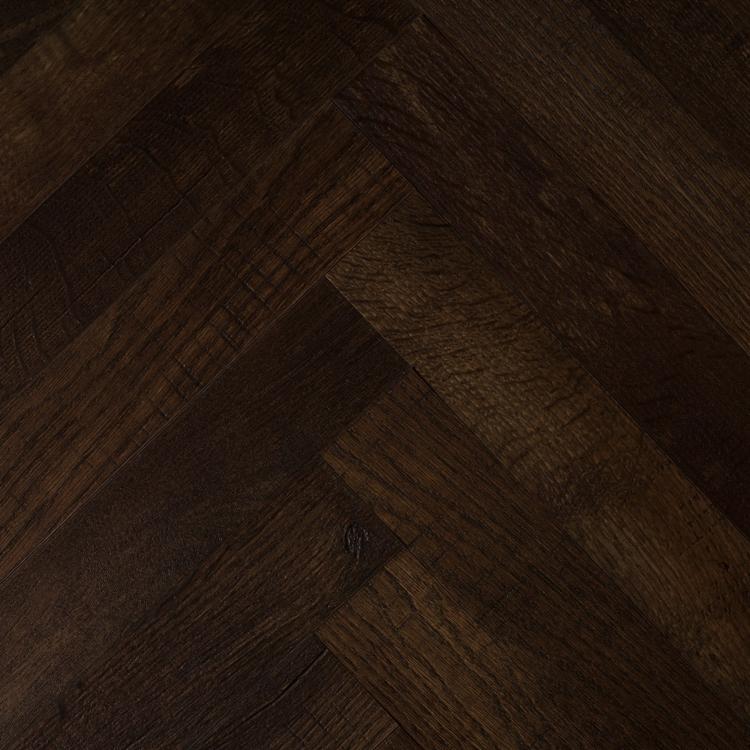 Pilt LVT-plaat Moods Herringbone Slim country oak 54880