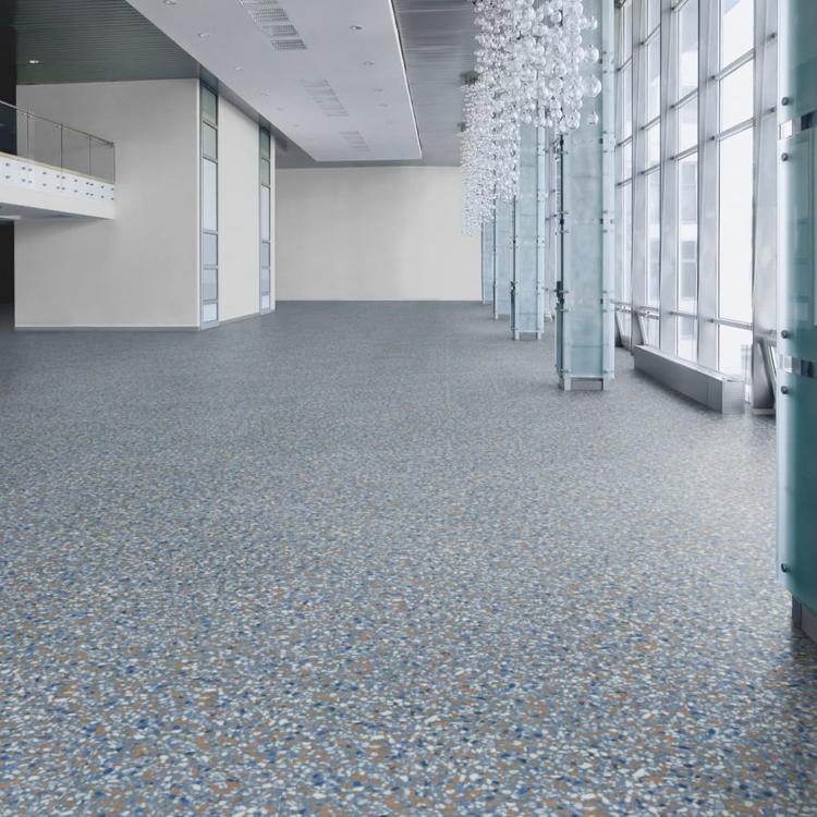 Allura Material blue terrazzo