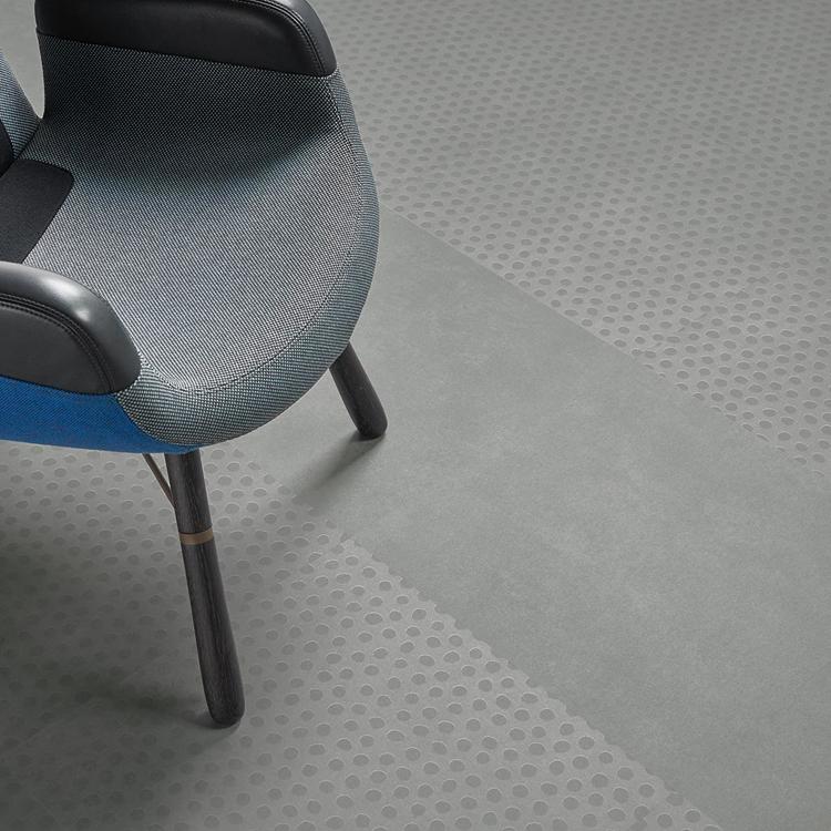 Allura Material cool concrete dots