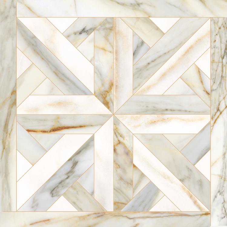 Põranda- ja seinaplaat Golden Pure elite white 60x60R LUX
