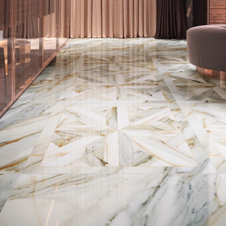 Pilt Põranda- ja seinaplaat Golden Pure elite white 60x60R LUX