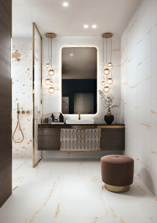 Põranda- ja seinaplaat Golden Pure vena oro
