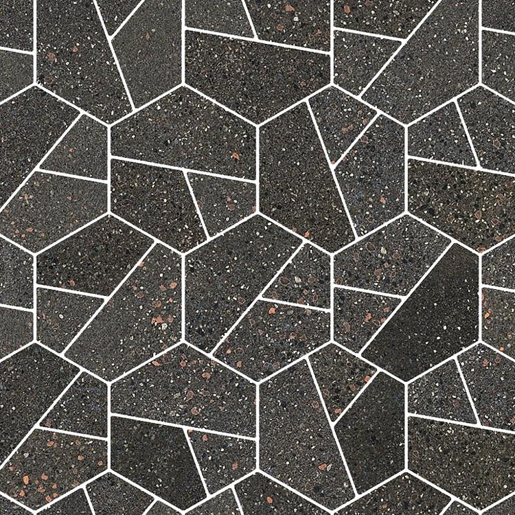 I Cocci mosaiik hydro exa grafite
