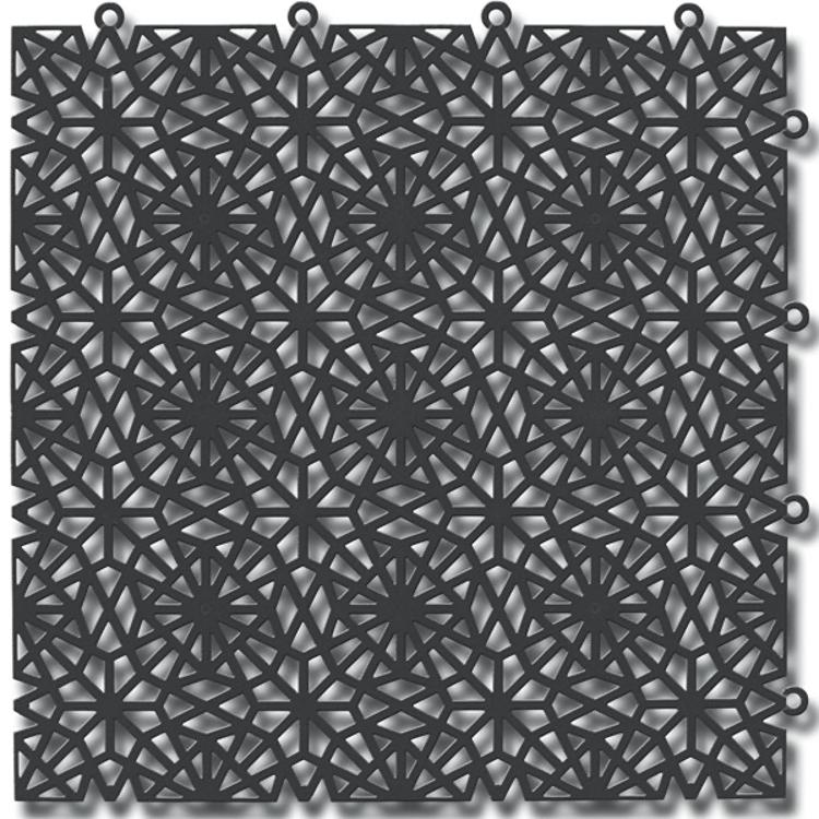 Kärgplaat Royal graphite grey 30x30 cm
