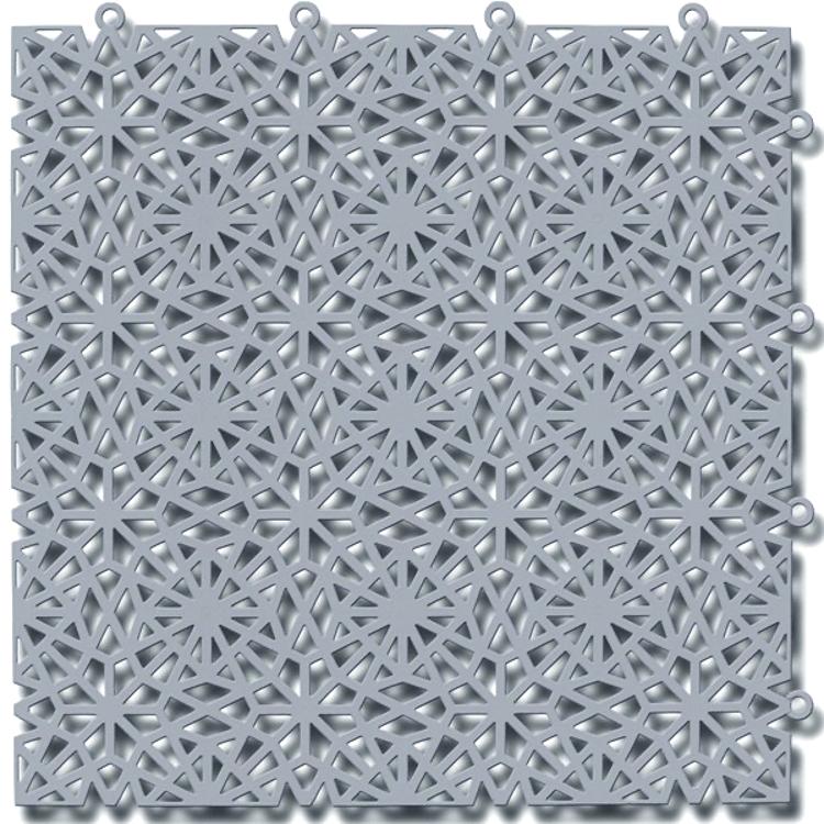 Kärgplaat Royal silver grey 30x30 cm
