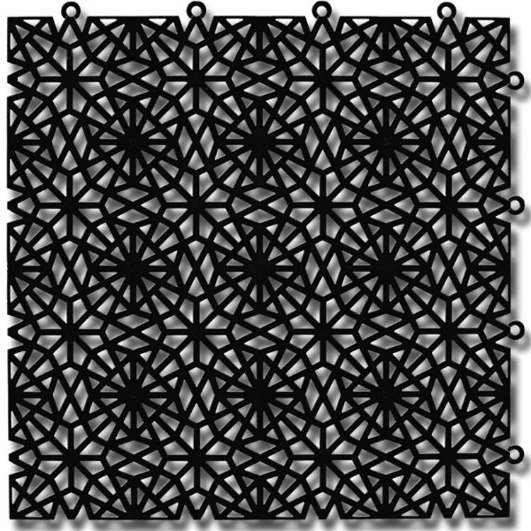 Kärgplaat Royal silk black