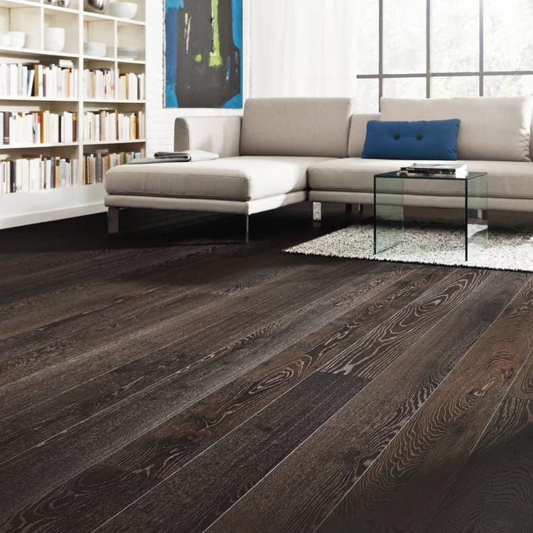 Pilt Parkett HARO 4000 Plank TAMM thermo Forte 4V naturaLin+