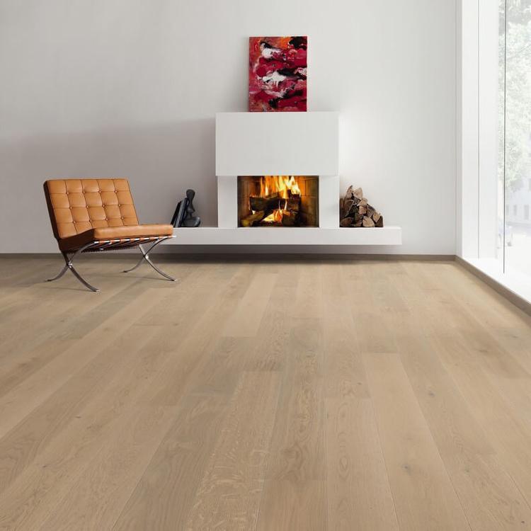 Pilt Parkett HARO 4000 Plank TAMM sand grey Markant naturaLin+