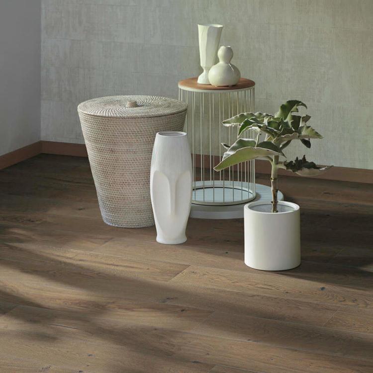 Pilt Parkett HARO 4000 Plank TAMM sand grey Sauvage 4V naturaLin+